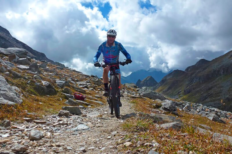 mountainbike seiser alm südtirol