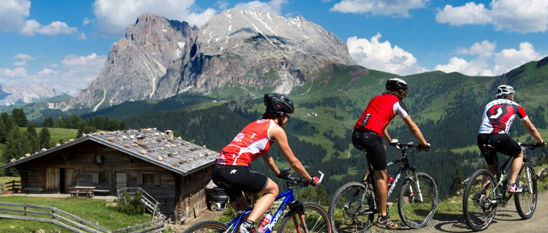 mountain bike seiser alm south tyrol