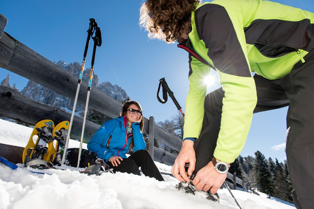 Ski holiday in Seis: sunny slopes at the front door