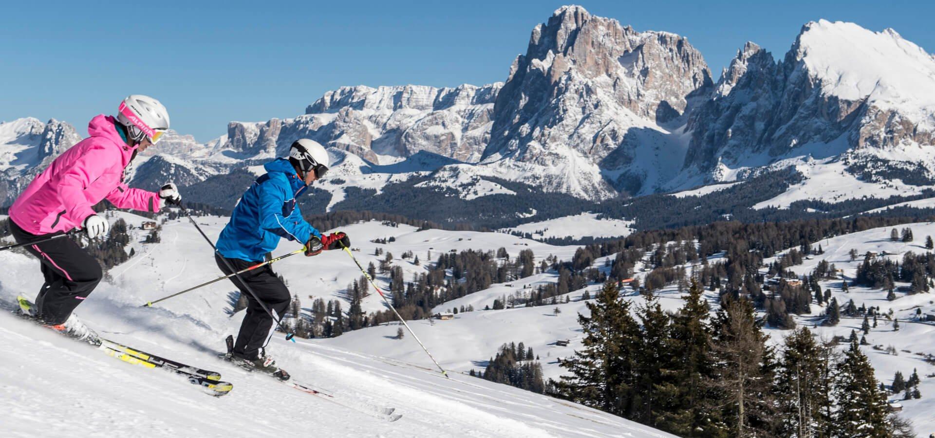 skifahren seiser alm