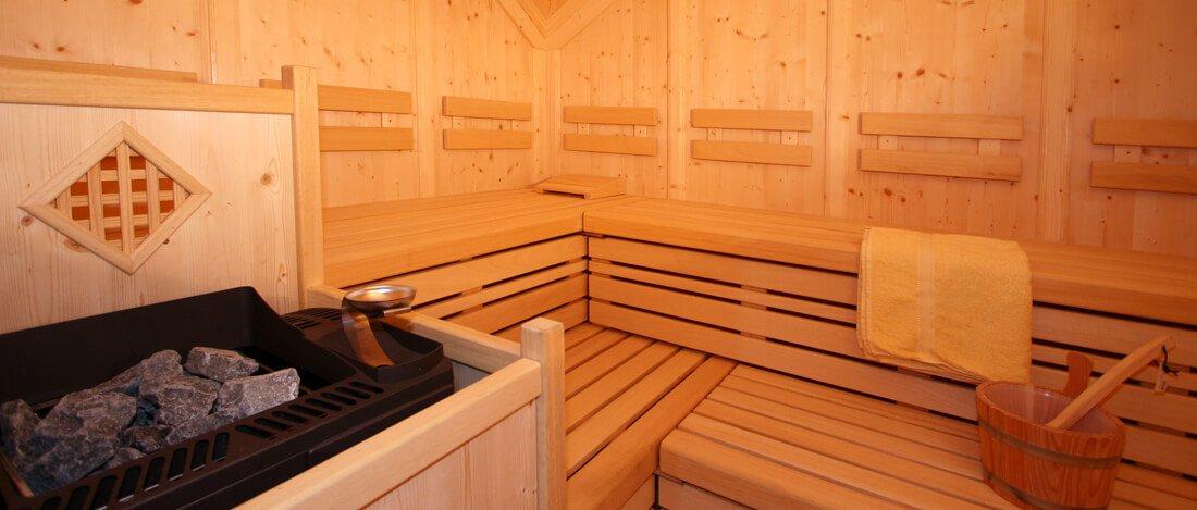 Wellnessurlaub in Seis auf der Seiser Alm: Unsere Saunalandschaft steht Ihnen offen